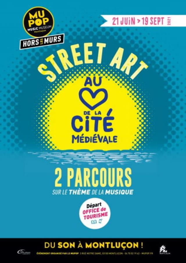 21 Juin 19 Septembre Street Art Montlucon